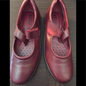Ladies red ecko 👞 loafers